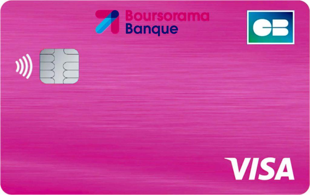Carte bancaire gratuite Boursorama Welcome