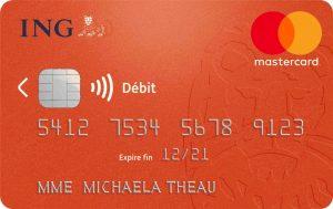 Carte Bancaire Gratuite ING Essentielle