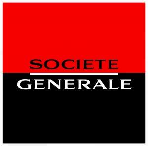 Logo de la banque traditionnelle Société Générale