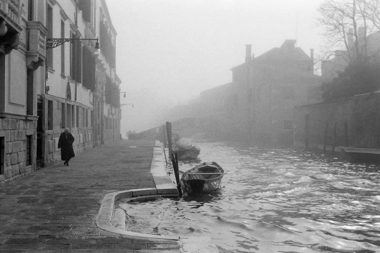 Early Morning at Rio Madonna dell'Orto, Cannaregio - Venice, Italy