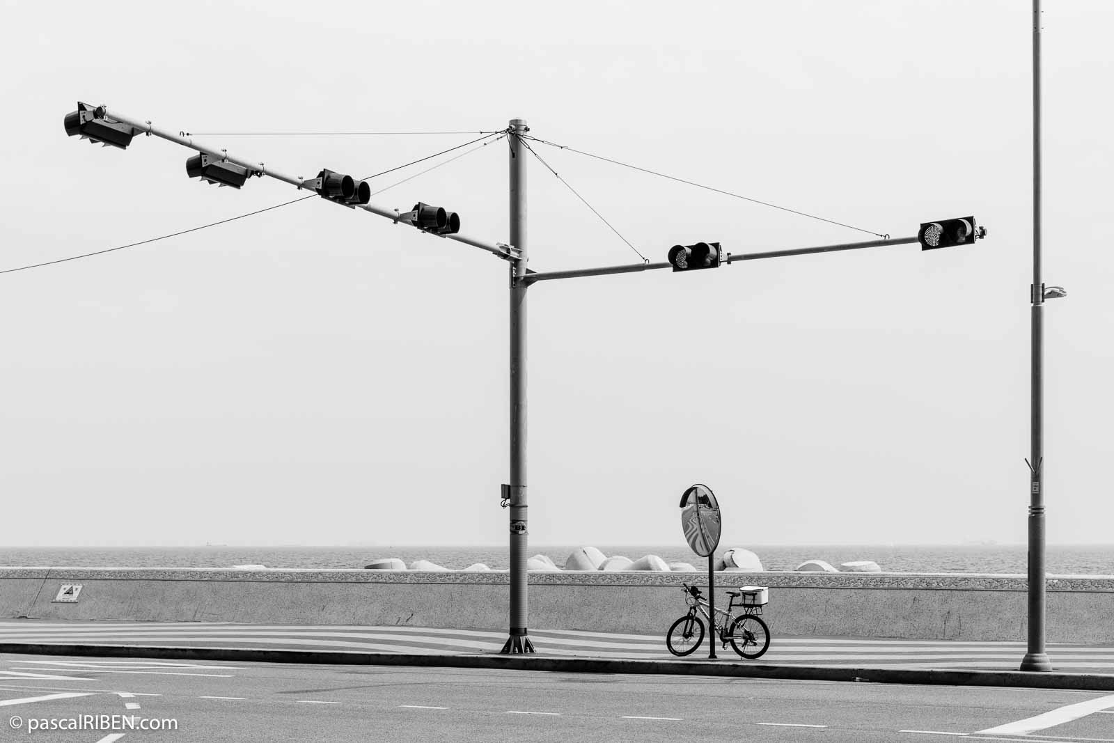 Lonely bicycle in Busan, South Korea, 2018