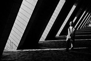 Man in the Light, Cultural Centre - Hong Kong, China