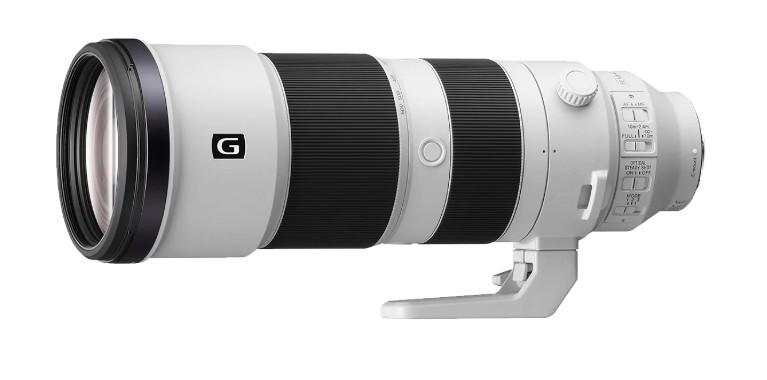Sony zoom FE 200–600 mm F5.6–6.3 G OSS