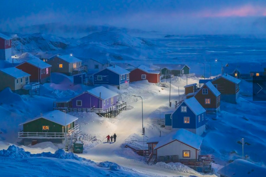 National Geographic 2019 Travel Photo Contest Winners - Greenlandic Winter by Weimin Chu