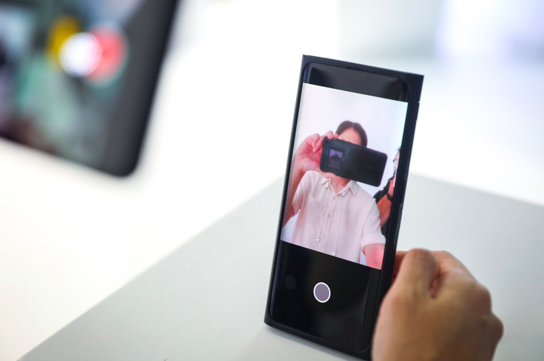 Oppo Under-Screen Selfie Camera technology showcased at MWC 2019 in Shanghai