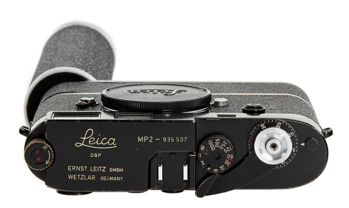 Leica MP2 Black Paint Sold for One Million Euro