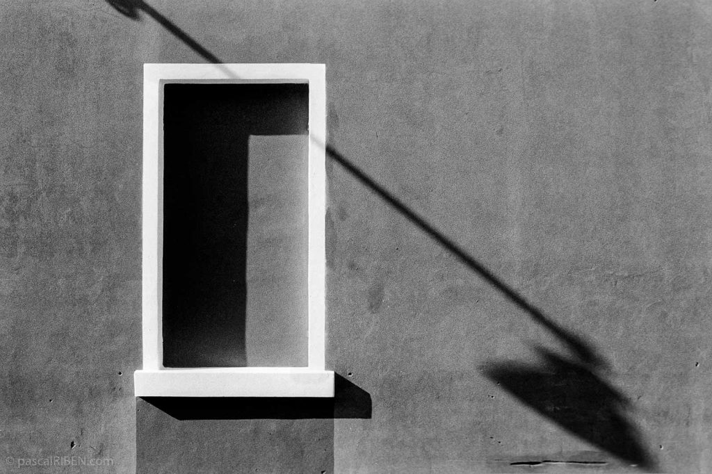 Lamp Shadow on Wall - Giudecca, Venice, Italy